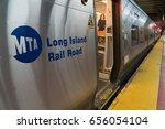 new york city  circa 2017  mta... | Shutterstock . vector #656054104