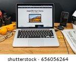 paris  france   june 6  2017 ...   Shutterstock . vector #656056264