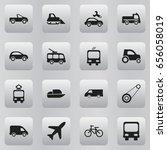 set of 16 editable shipment... | Shutterstock .eps vector #656058019