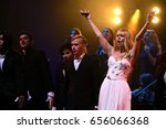 Small photo of BROOKLYN, NY - JUNE 03: Singer Valeria performs on stage during the Viktor Drobysh 50th year birthday concert at Barclay Center on June 03, 2017 in Brooklyn NY.