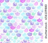 watercolor seamless pattern... | Shutterstock . vector #656109880