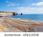 isle of wight coast alum bay... | Shutterstock . vector #656113318