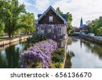 Picturesque House On A Canal I...