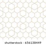 geometric seamless vector... | Shutterstock .eps vector #656138449