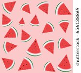 the background of sliced  ... | Shutterstock .eps vector #656138869