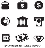 banking icons | Shutterstock .eps vector #656140990
