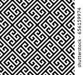 greek key seamless pattern... | Shutterstock .eps vector #656159974