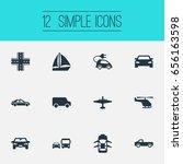 vector illustration set of... | Shutterstock .eps vector #656163598