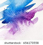 photo of abstract watercolor...   Shutterstock . vector #656173558