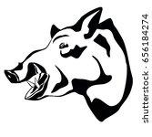 boar | Shutterstock .eps vector #656184274
