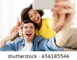 family  technology and people... | Shutterstock . vector #656185546