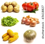 vegetable | Shutterstock . vector #65618827