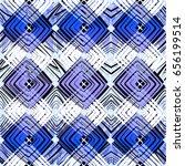 geometric tile print | Shutterstock . vector #656199514
