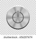 power button. vector... | Shutterstock .eps vector #656207674