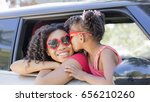 summer fun  happy girls or... | Shutterstock . vector #656210260