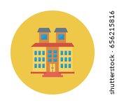 buildings  | Shutterstock .eps vector #656215816