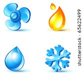 Air Conditioner Icons   Blow ...