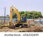 construction site  | Shutterstock . vector #656232694