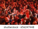brooklyn  ny   june 03  singer... | Shutterstock . vector #656247448