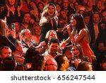 brooklyn  ny   june 03  singer... | Shutterstock . vector #656247544