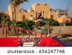 el gouna  egypt   june 8th 2017 ... | Shutterstock . vector #656247748