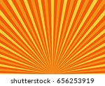 sun rays. sun with rays... | Shutterstock .eps vector #656253919