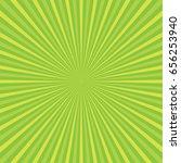 sun rays  green rays background | Shutterstock .eps vector #656253940