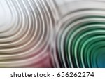 colorful ripple background | Shutterstock . vector #656262274