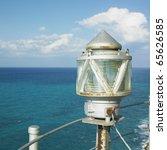 lighthouse  cayo paredon grande ...   Shutterstock . vector #65626585