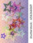 star texture idea | Shutterstock .eps vector #656266069