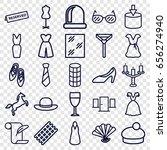 elegance icons set. set of 25...   Shutterstock .eps vector #656274940