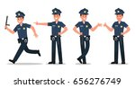 police character vector design | Shutterstock .eps vector #656276749