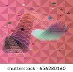 wind vector art | Shutterstock .eps vector #656280160