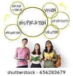 inspiration entrepreneur fresh...   Shutterstock . vector #656283679