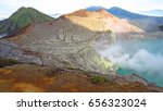 mount bromo volcano  east java  ... | Shutterstock . vector #656323024