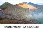 mount bromo volcano  east java  ... | Shutterstock . vector #656323030