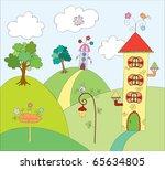 fairyland. | Shutterstock . vector #65634805