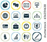 job icons set. collection of... | Shutterstock .eps vector #656354638