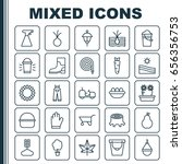 Garden Icons Set. Collection Of ...