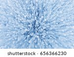 gas bubbles texture in ice of... | Shutterstock . vector #656366230