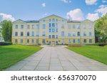 old manor at latvia  city...