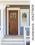 front door  exterior view | Shutterstock . vector #656375839