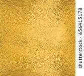 gold foil seamless texture... | Shutterstock . vector #656415178