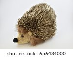 a cute and lovely porcupine...   Shutterstock . vector #656434000
