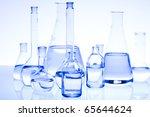laboratory glassware  research... | Shutterstock . vector #65644624