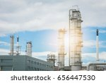 oil and gas industry refinery... | Shutterstock . vector #656447530