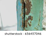 abstract black and white rusty...   Shutterstock . vector #656457046