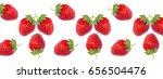 banner pattern ripe fresh red... | Shutterstock . vector #656504476