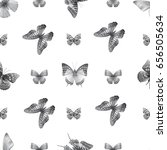 seamless pattern from... | Shutterstock .eps vector #656505634