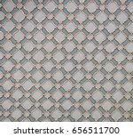 ancient hand made turkish  ... | Shutterstock . vector #656511700